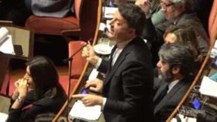 Referendum, Renzi lascia libertà di voto