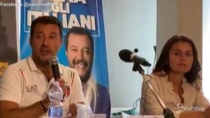 """Regionali, Salvini: """"Spero che il Governo vada a casa a prescindere dalle elezioni"""""""