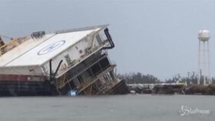 Usa, si aggrava bilancio uragano Laura: almeno 14 i morti