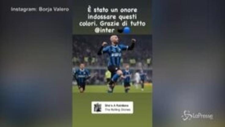 """Inter, Borja Valero saluta: """"È stato un onore indossare questi colori"""""""