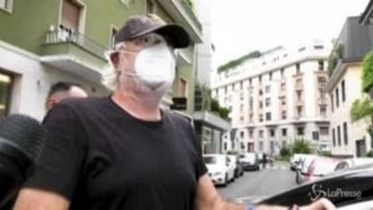 Briatore dimesso: quarantena a casa Santanchè