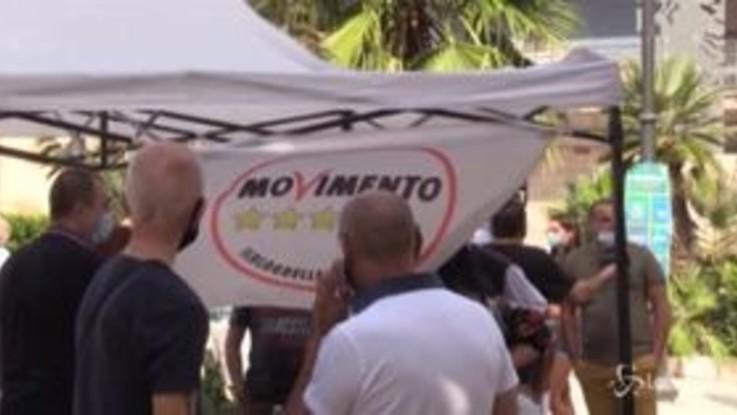 Napoli: Di Maio atteso a Casavatore, in pochi ad aspettarlo in piazza