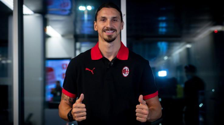 """Milan, Ibra a Milan: """"Sono tornato a casa"""". A breve la firma"""