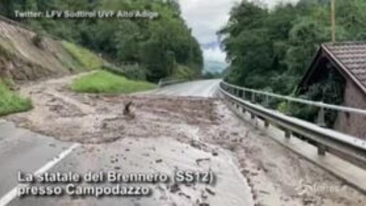 Il maltempo flagella l'Alto Adige: esonda l'Isarco, evacuate Chiusa ed Egna