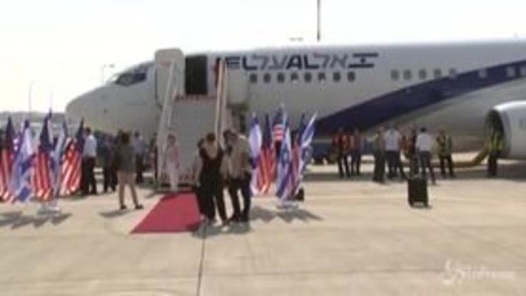 Israele, parte il primo volo per gli Emirati Arabi