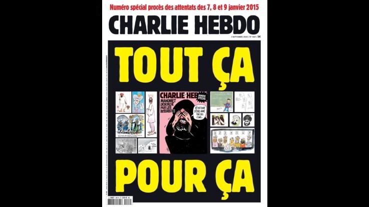 Strage Charlie Hebdo, settimanale ripubblica caricature Maometto alla vigilia del processo