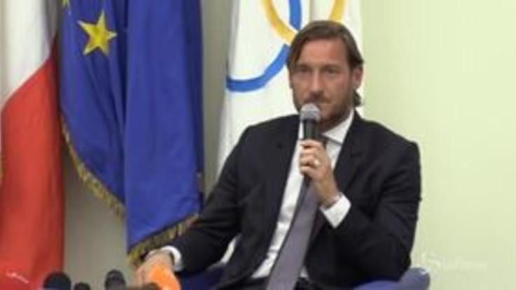 """Roma, Totti: """"Prima o poi ci ritroveremo"""""""