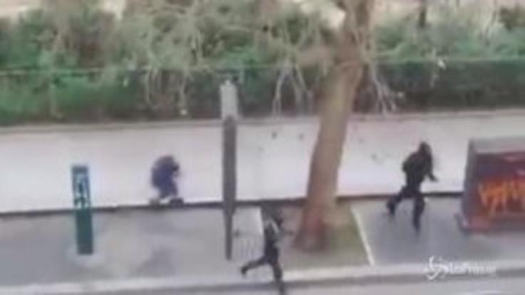 Al via processo strage Charlie Hebdo, le drammatiche immagini dell'attentato