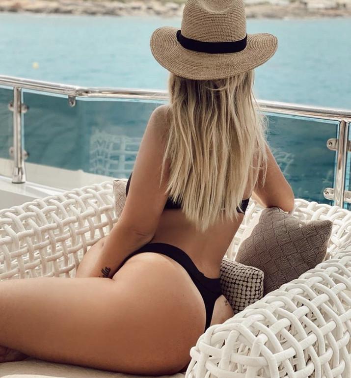 Wanda Nara bomba sexy a Ibiza