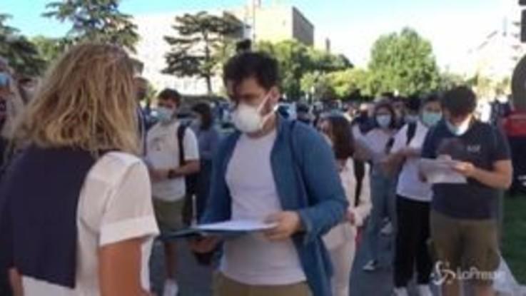Roma: al via alla Sapienza i test di Medicina tra proteste per il numero chiuso ed emergenza covid