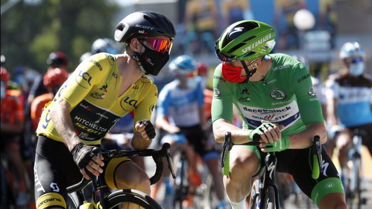 Ciclismo, sesta tappa a Lutsenko. Yates conserva la maglia gialla