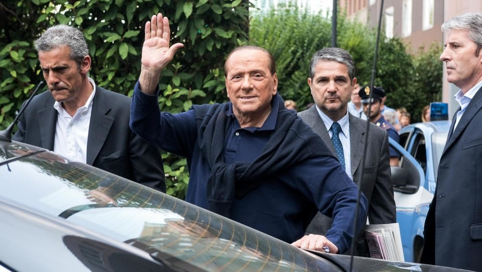 2016- Silvio Berlusconi viene dimesso dal San Raffaele dopo l'intervento al cuore ©