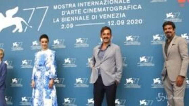Mostra di Venezia: è il giorno di 'Padrenostro' con Favino
