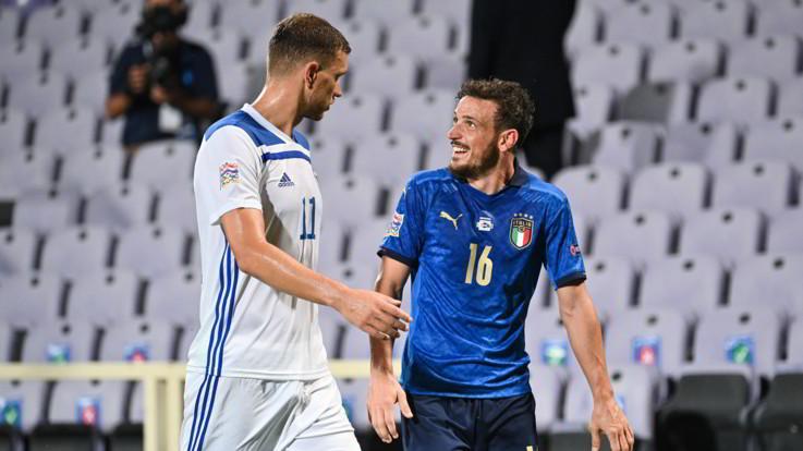 Nations League,Italia riparte ma non brilla: 1-1 con Bosnia