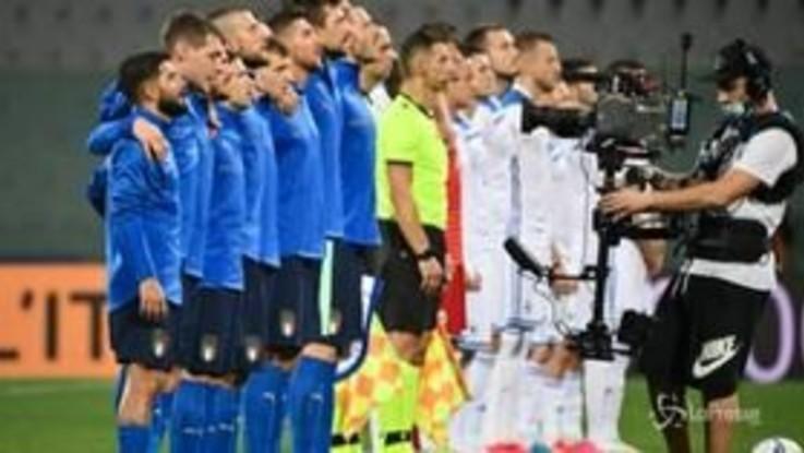 Nations League, 1 a 1 tra Italia e Bosnia