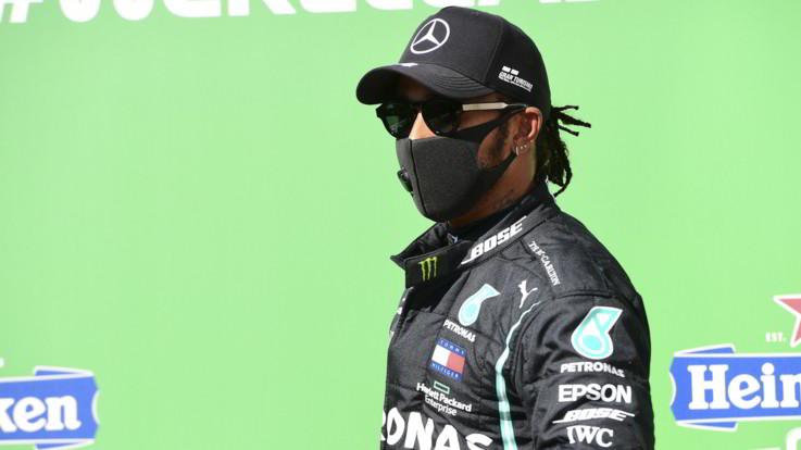 Monza, Hamilton in pole. Ancora male le Ferrari