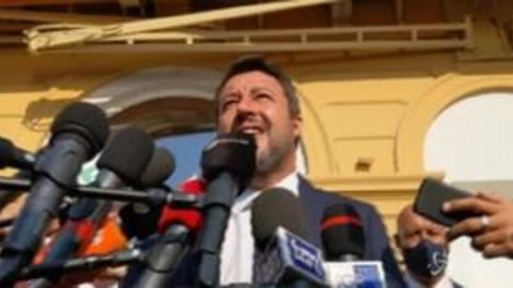"""Coronavirus, Salvini: """"Il governo merita di andare a casa domattina"""""""