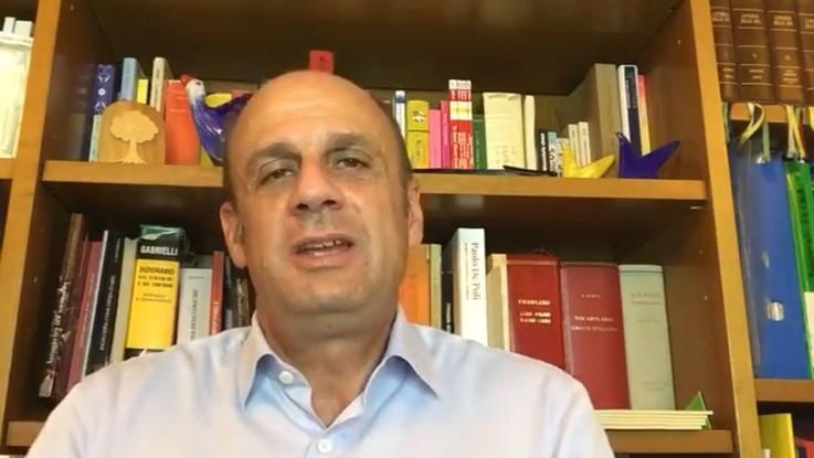 Malore per il candidato in Veneto Lorenzoni durante la diretta Facebook con Boccia