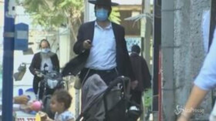 Coronavirus, coprifuoco notturno in 40 città in Israele