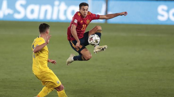 Nations League: Spagna poker sull'Ucraina