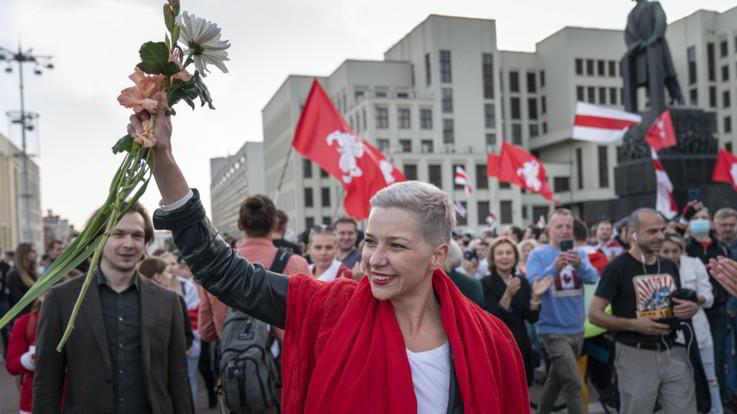 Bielorussia: Kolesnikova arrestata al confine con Ucraina