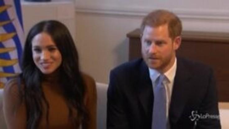 Harry e Meghan chiudono i conti con la Casa Reale