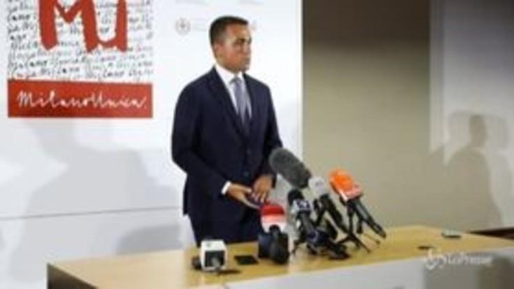 """Milano Unica, Di Maio: """"Italia pronta a ripartire su mercati internazionali"""""""