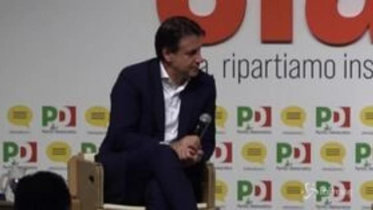 """Conte: """"Salvini non può mancare a nessuno, parla così tanto"""""""