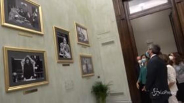 Sala delle Donne alla Camera, aggiunte le foto di Casellati e Cartabia