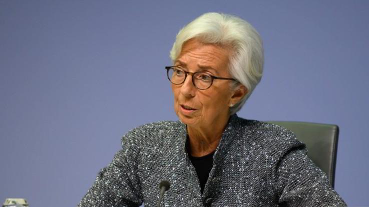 """Bce lascia i tassi di invariati. Lagarde: """"Significativa incertezza, ampi stimoli monetari restano necessari"""""""