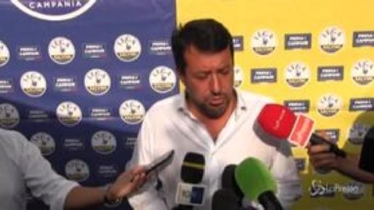 """Regionali Toscana, Salvini: """"Sfida difficile ma non impossibile, c'è voglia di cambiamento"""""""