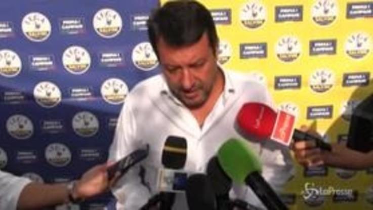 """Salvini: """"De Luca è il vecchio, la Lega è il nuovo"""""""