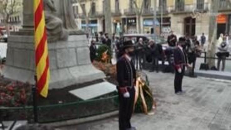 Diada de Catalunya, celebrazioni anomale a Barcellona per il Covid