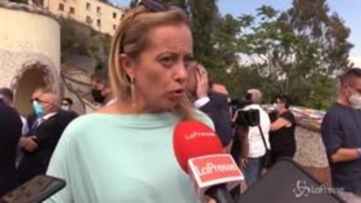 """Willy, Meloni: """"Responsabilità non della politica ma di modelli come Gomorra"""""""