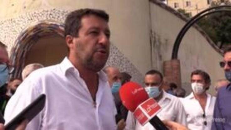 """Salvini: """"Serve pace fiscale fino al 31 dicembre"""""""