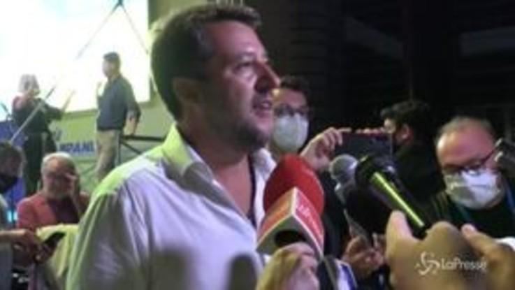 """Calcio, Salvini: """"Spero in un campionato aperto, io da milanista è dieci anni che non sorrido"""""""