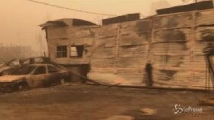 Usa, brucia la West Coast: almeno 30 morti
