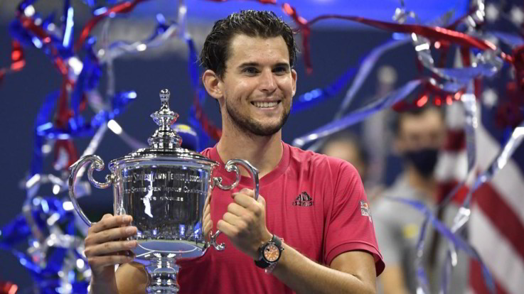 Us Open:  il trionfo di Dominic Thiem, Zverev battuto al tie-break del quinto set
