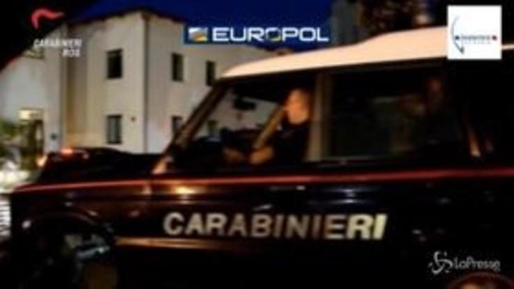 'Ndrangheta, armi e droga tra Italia e Francia: decine di arresti