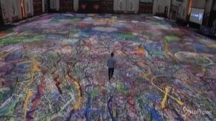 Dubai, quasi pronto il dipinto più grande del mondo