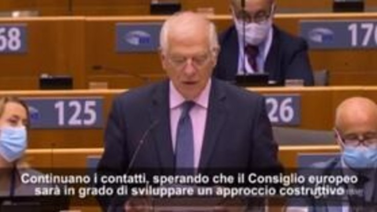 """Mediterraneo, Borrell: """"Rapporti con la Turchia sono a un momento spartiacque"""""""