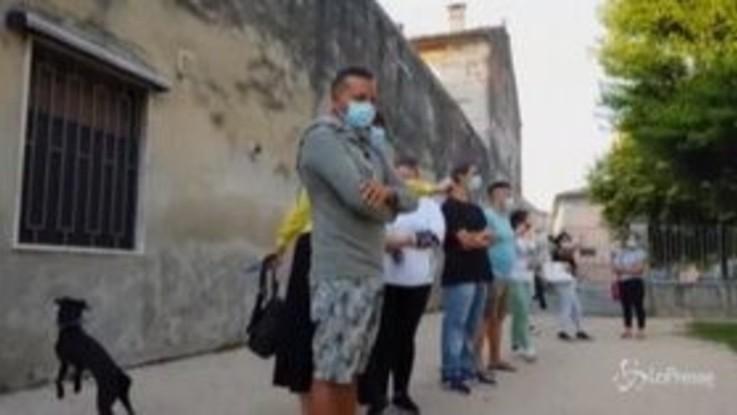 Codogno, primo giorno di scuola nell'epicentro della pandemia in Italia