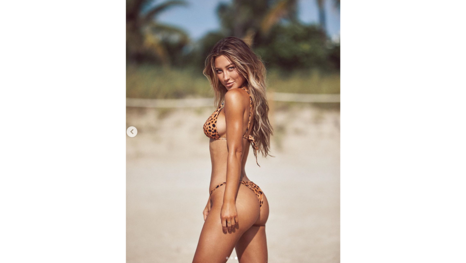 la top model Stefanie Gurzanski (fonte Instagram) ©