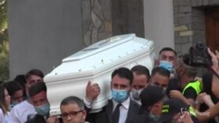 Funerali Maria Paola, il dolore della famiglia