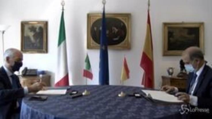 Criminalità organizzata, firmato accordo tra polizie di Italia e Spagna