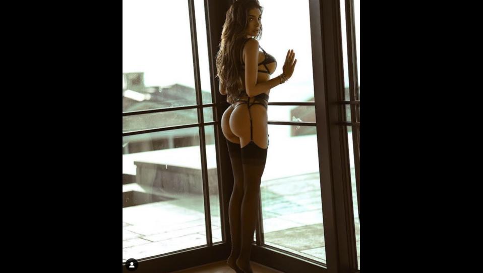 la modella Lyna Perez (fonte Instagram) ©