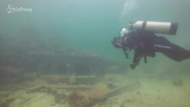 Messico, relitto di una barca in fondo al mare: serviva per la tratta degli schiavi