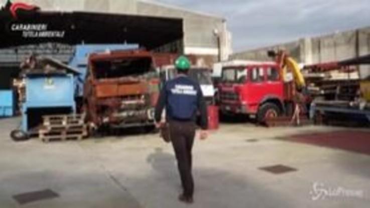 Caserta, traffico illecito di rifiuti: sequestri per 1 milione di euro a una società