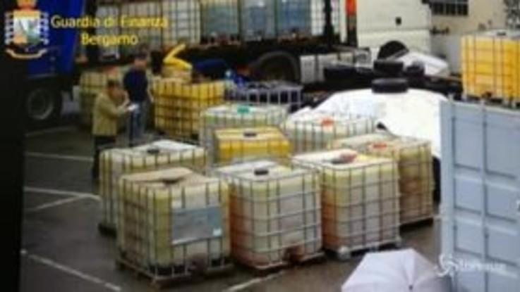 Bergamo, contrabbando di carburanti dall'estero: 10 arresti