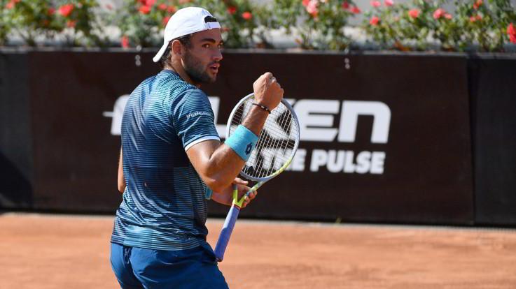 ATP Roma: Berrettini, Travaglia e Sinner agli ottavi di finale